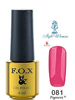 Fox Gel Polish Фокс гель лак 6 мл №081