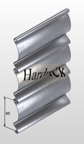 50-й профиль для роллетных ворот Hardwick