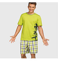 Мужская пижама Key MNS 490 A6(футболка+шорты)