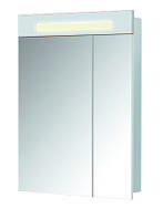 Шкаф зеркальный Париж ЗШ-60 белый