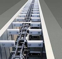 Конвейер цепной скребковый завальной ямы ТСЦм-100