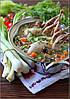 Суп из перепелок с булгуром и овощами