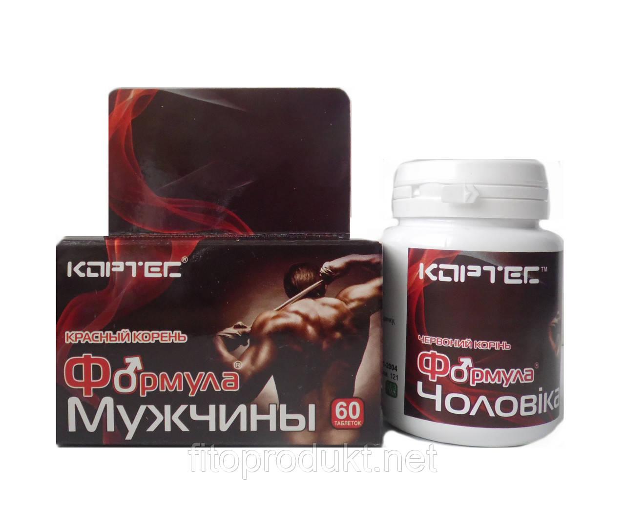 Формула мужчины – стимулятор мужской активности №60 Кортес