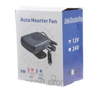 Автомобильный вентилятор с обогревом 12V Auto Heater Fan (вентилятор салона12в)
