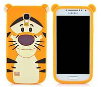 Чехол Тигр для Samsung Galaxy S4 Mini I9190 I9192, фото 1
