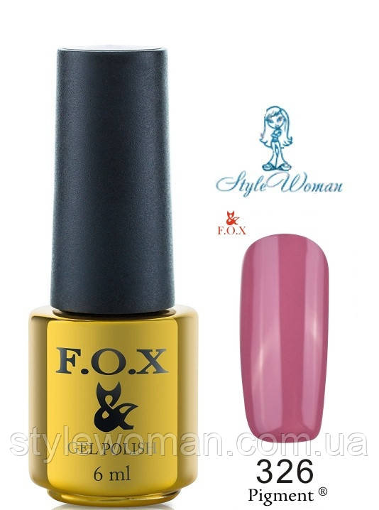 Fox Gel Polish Фокс гель лак 6 мл №326