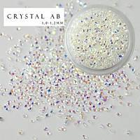 Хрустальная крошка Crystal AB 100 шт