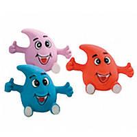Karlie-Flamingo (Карли-Фламинго) PUPPY TOY DROP игрушка для щенков, капля, латекс