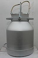 Доильное ведро с крышкой для доильного аппарата АИД, УИД, фото 1