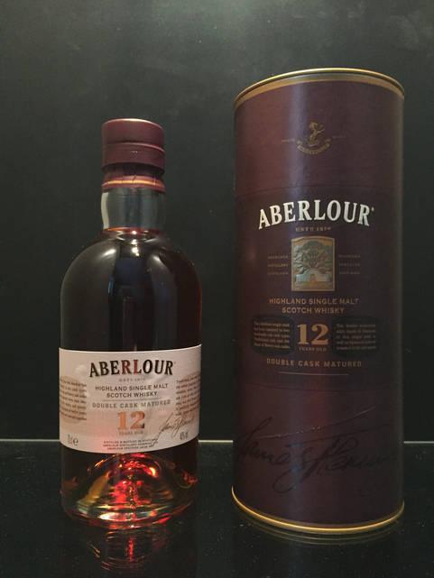 Шотландский виски односолодовый Aberlour 12 year old 1л