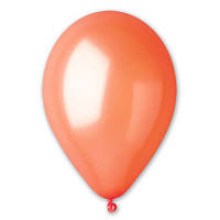 "Воздушные шары 5"" Металлик оранжевый.  Шары оптом."