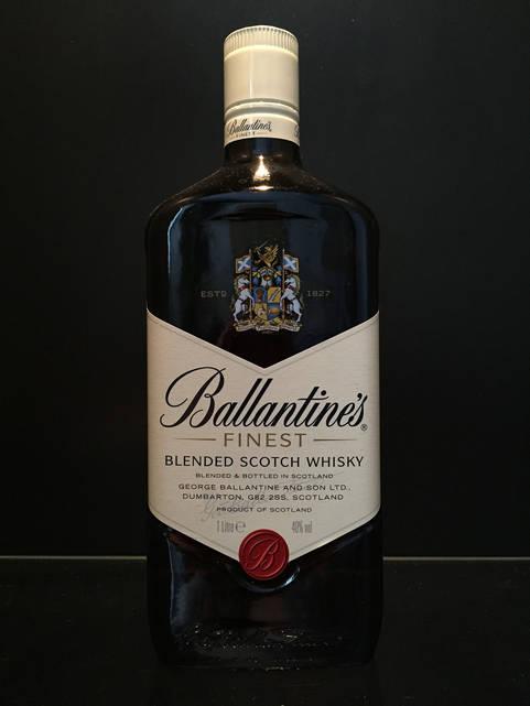 Виски шотландский Ballantine's Finest Whisky Баллантайнс 1л