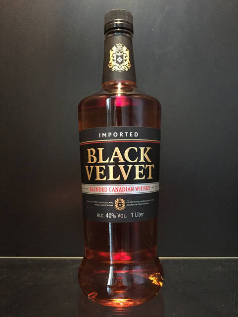 Популярный Канадский виски Black Velvet 1л