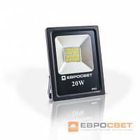Прожектор EVRO LIGHT EV-20-01  6400K 1600Lm SMD, фото 1