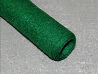 Фетр 226 тёмно-зелёный  40х50 см  толщина 1 мм, фото 1