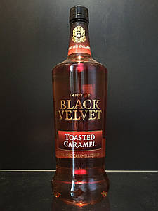 Карамельный виски Black Velvet Toasted Caramel Блек Вельвет карамель 1л