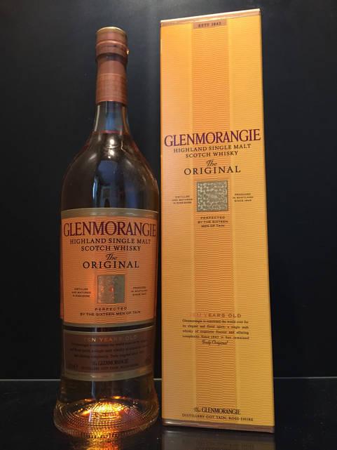 Односолодовый Шотландский виски Glenmorangie 10 y.o. Original 1L
