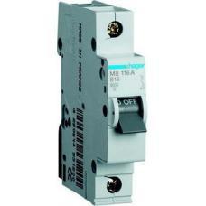 Автоматический выключатель MB106A ln=6А, 1р, B, Hager