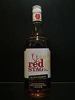 Американский бурбон Jim Beam Red Stag 1L