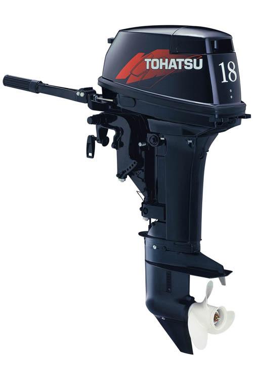 Увеличить фото лодочного мотора Tohatsu M18E2 S.