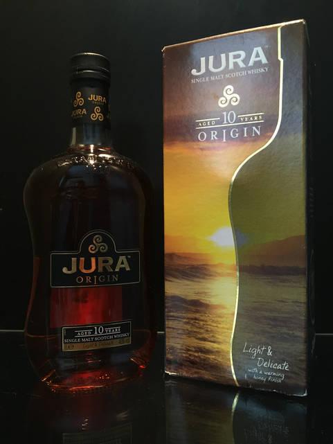 Виски шотландский односолодовый Jura Origin 10 years old 1л