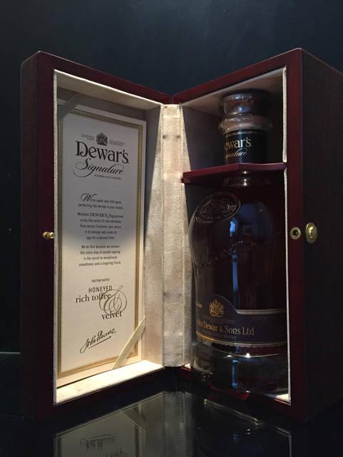 Купажированый Шотландский виски Dewar's Signature 0,7л