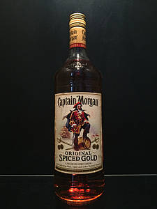 Ямайский ром Captain Morgan Original Spiced Gold 1L