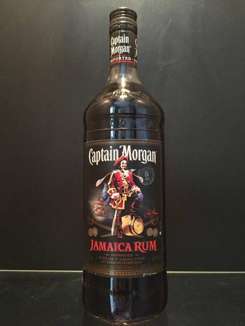 Ямайский ром Captain Morgan Black Капитан Морган Блэк 1л