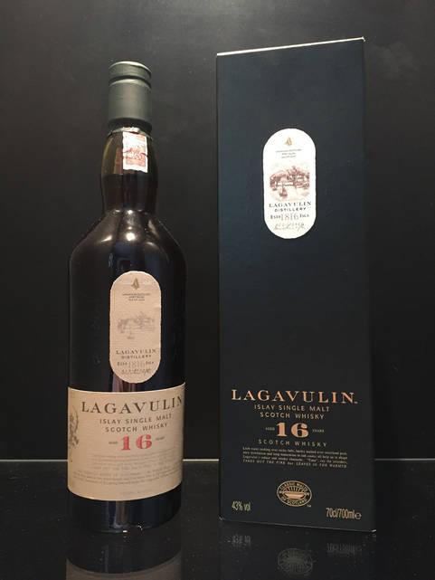 Односолодовый Шотландский виски Lagavulin 16 y.o. 0.7л