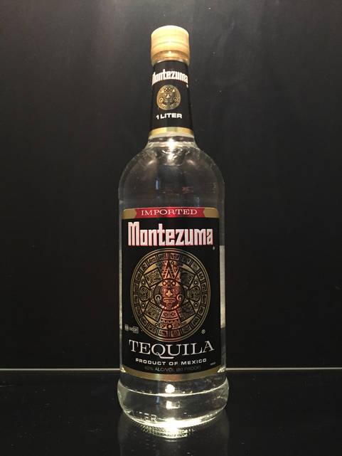 Мексиканская текила Montezuma Blanco Монтезума Серебряная 1л