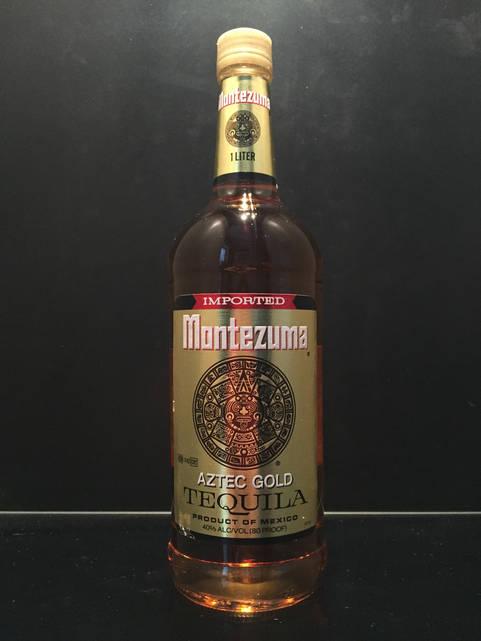 Montezuma Gold Мексиканская золотая (gold) текила 1л