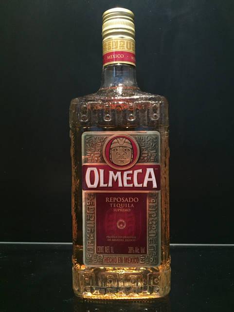 Ольмека золотая мексиканская текила Olmeca Gold 1л