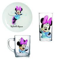 Набор детский Luminarc Disney Minnie Colors H5321 (3 предмета)