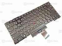 Оригинальная клавиатура для ноутбука ThinkPad Edge E435, ThinkPad Edge T430U series, black, ru, трекпоинт