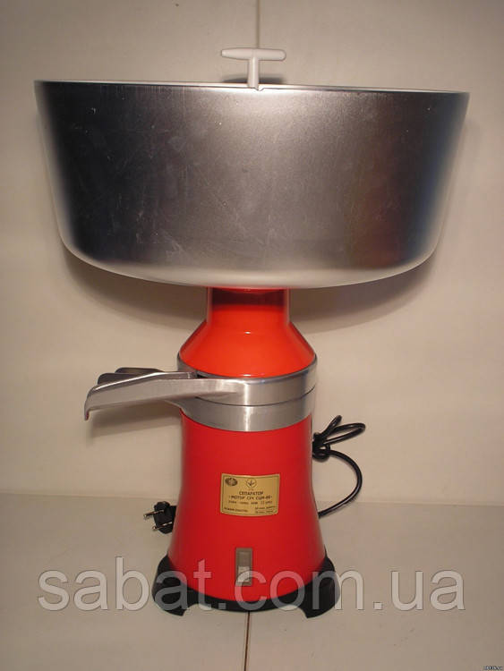 Сепаратор для молока запорож-сич, электрически