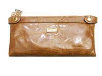 Женский кошелек JCCS 1006 светло-коричневый из натуральной кожи