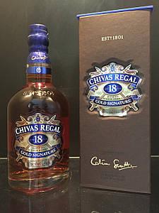 Виски Chivas Regal Чивас Ригал 18 years old 0,7л