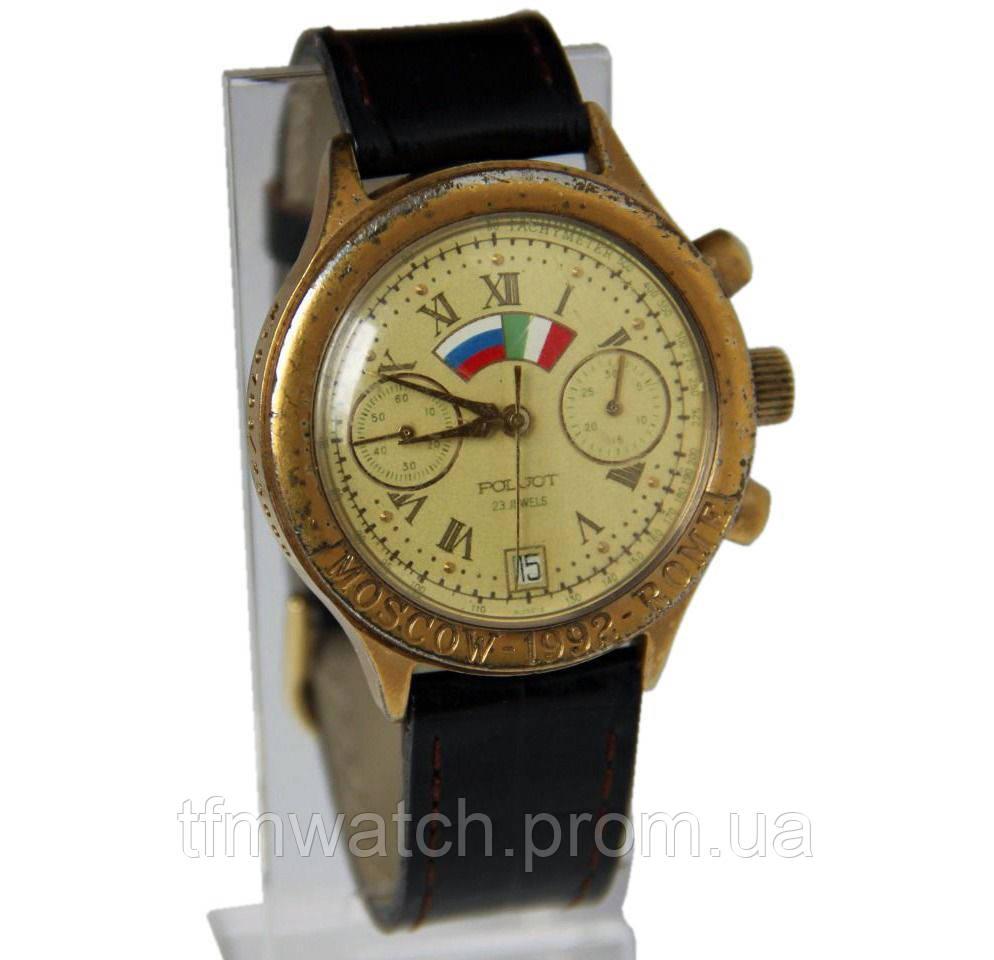 Хронограф Полет 3133 Москва - Рим 1992