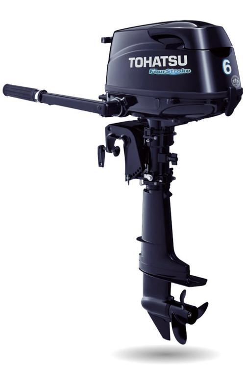 4-х тактный лодочный мотор Tohatsu MFS6C S-S