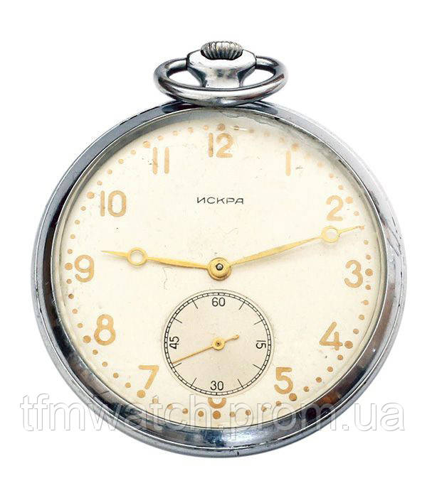 Искра карманные механические часы СССР