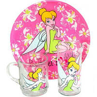 Набор детский Luminarc Disney Tinker Bell H5305 (3 предмета)