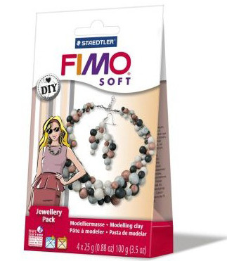 """Подарочный набор Фимо Софт FimoSoft Jewellery Pack Coral """"Набор для украшений Жемчуг"""""""