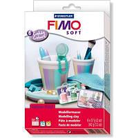 Подарочный набор Фимо Софт FimoSoft Candy Colours Конфетные цвета (6 штук)