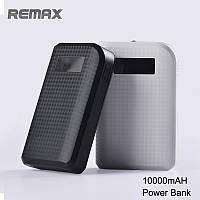 Внешний аккумулятор Remax Proda Carbon 10000mAh LED Фонарик LCD Дисплей