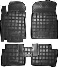 Поліуретанові килимки в салон Nissan Tiida (C11) 2004-2012 (AVTO-GUMM)