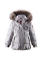 Куртка пуховик для девочки Reima 521341-9100. Размер 116.