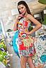 Летнее платье с абстрактным принтом, фото 2