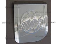 Накладка на люк бензобака Volkswagen T4 (фольксваген т4), с логотипом  нерж.