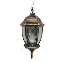 Светильник уличный Lemanso PL5205 античное золото 100W на цепочке