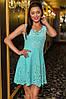 Короткое платье с перфорацией, фото 2